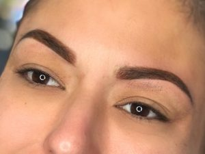 Instagram Brow Look with Microshading