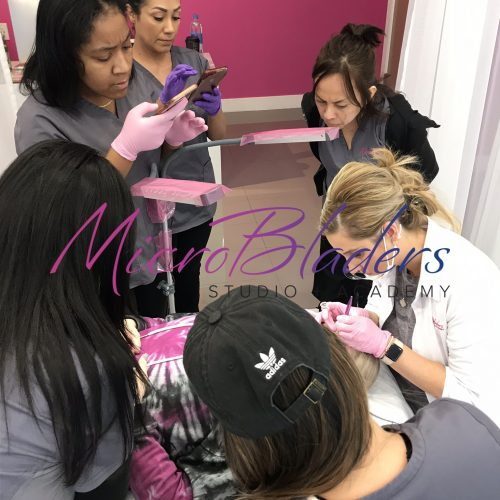 Microblading Apprentices Observation with Danielle at MicroBladers Las Vegas