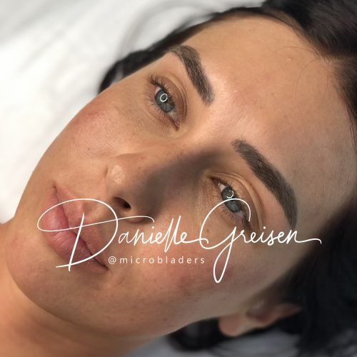 Microblading Eyebrows by Danielle at MicroBladers Las Vegas