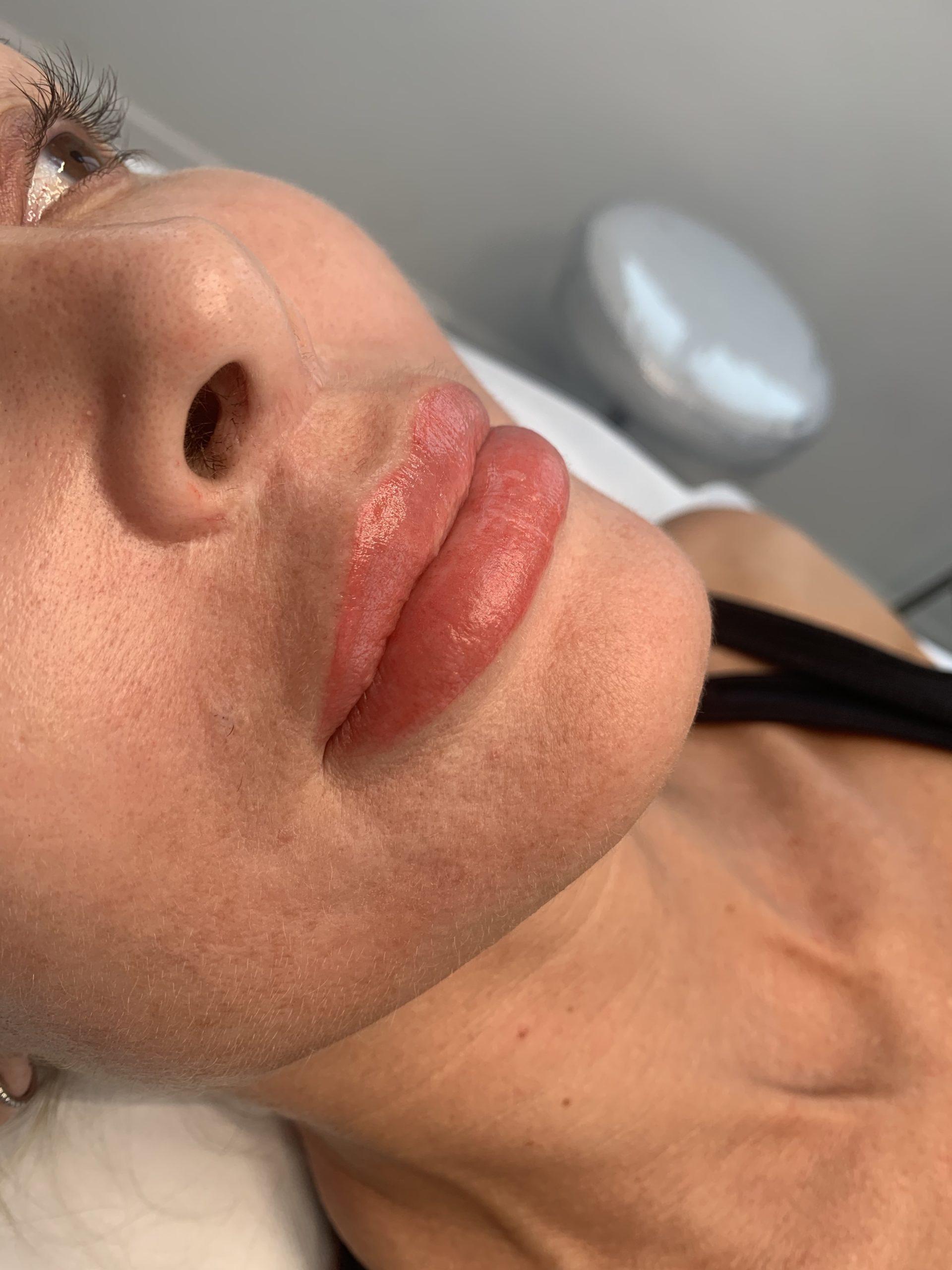Microblading's Latest Instagram-Worthy Look: Lip Porn